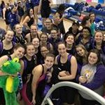 Rams Swimmers Find Success at Conference Meet