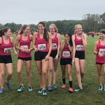 Girls Varsity Cross Country finishes 5th place out of 15 teams at MHSAA Regionals