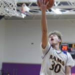 Boys Basketball Falls to Lakeshore in Districts