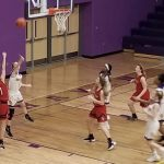 Lady Rams Basketball beats Lakeshore in First Round of Districts 41 – 35