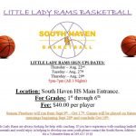 Reminder: Tonight is the LAST CHANCE to sign up for Little Lady Rams