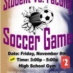 Student vs. Faculty Soccer Game