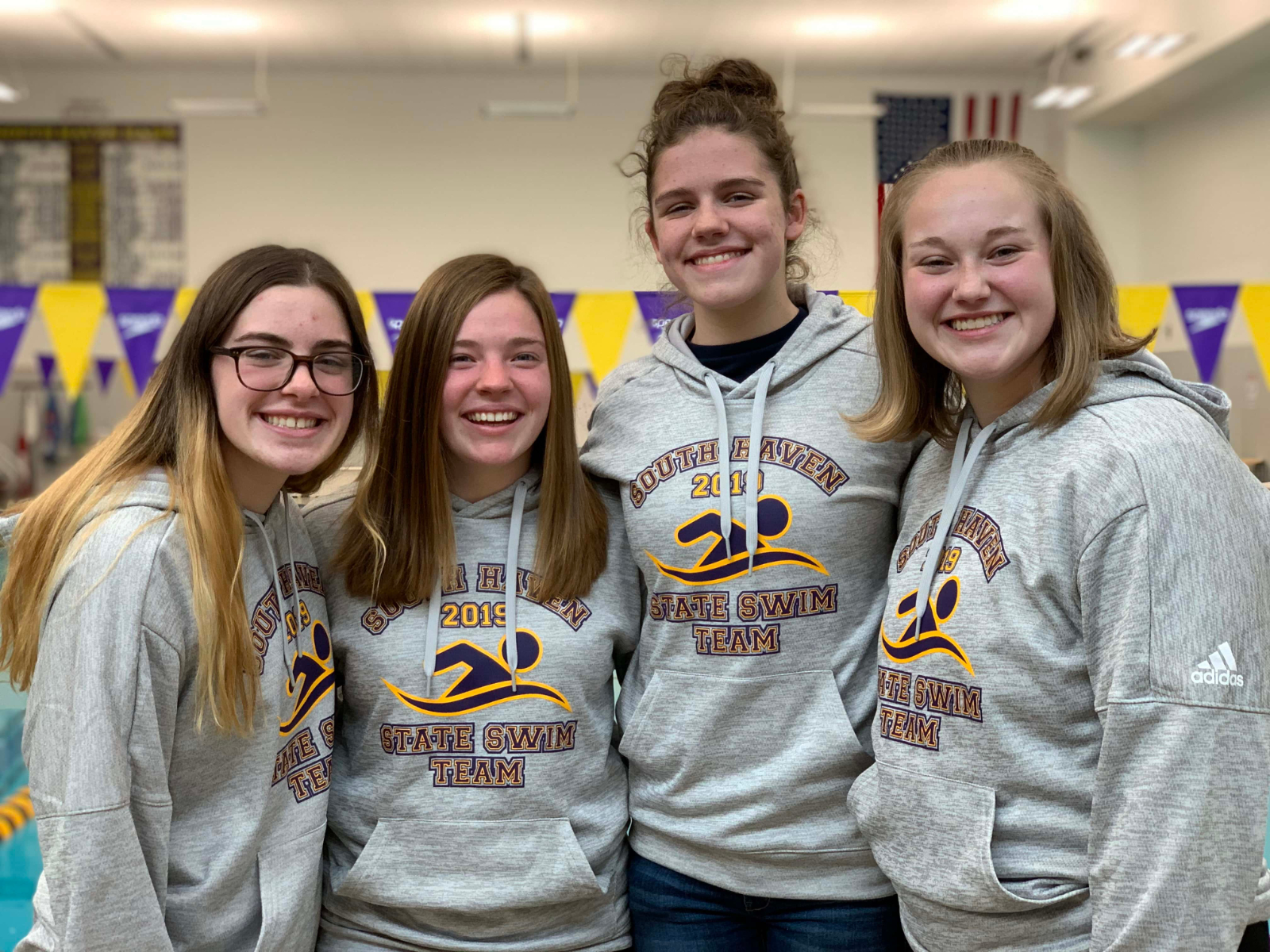 200 Medley Relay Team Recognized as WSJM Student Athlete of the Week!