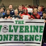 SH Varsity Wrestlers Place at Wolverine Conference Meet