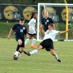 Shelby High School Boys Varsity Soccer ties T C Roberson High School 1-1