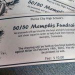 50/50 Raffle Fundraiser for Memphis Trip