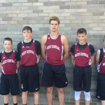West Central Boys Middle School Cross Country finishes 2nd place
