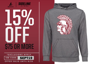 15% OFF ON ALL WEST CENTRAL ATHLETIC APPAREL