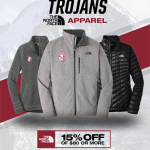 The North Face now available in Trojan Athletic Gear