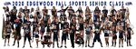 2020  Edgewood Fall Sports Senior Class
