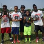 2015 Youth Football Camp Award Winners