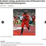 Academic Ratings, Graduation Rates of Houston's BEST High School Football Program's