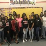 Westfield Lady Mustang's In The Community