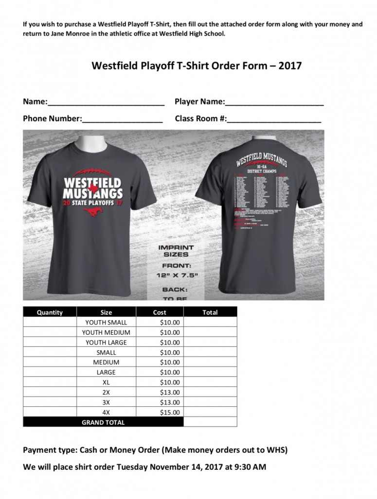Playoff T-Shirts