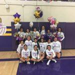 Norwalk High School Girls Varsity Volleyball beat La Mirada 3-0