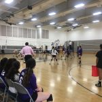 Norwalk High School Girls Varsity Volleyball falls to Mayfair High School 3-0