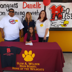 April 21st – Danielle Perez signs to Benedictine University at Mesa