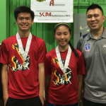 Badminton Bryan Chong and Crystal Yang State Championship Qualifiers
