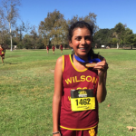 "Emily Perez Medals at ""Surf City Invitational""."