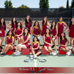 Girls JV Tennis Undefeated in Valle Vista League