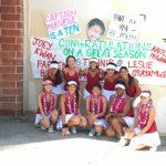 Wilson/Hacienda Heights Girls Varsity Tennis beat West Covina High School 18-0