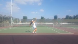 Girls Tennis Wilson vs. Nortview