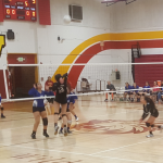 Wilson/Hacienda Heights Girls Varsity Volleyball falls to Baldwin Park High School 3-2