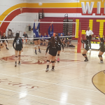 Wilson/Hacienda Heights Girls Varsity Volleyball falls to San Dimas High School 3-1