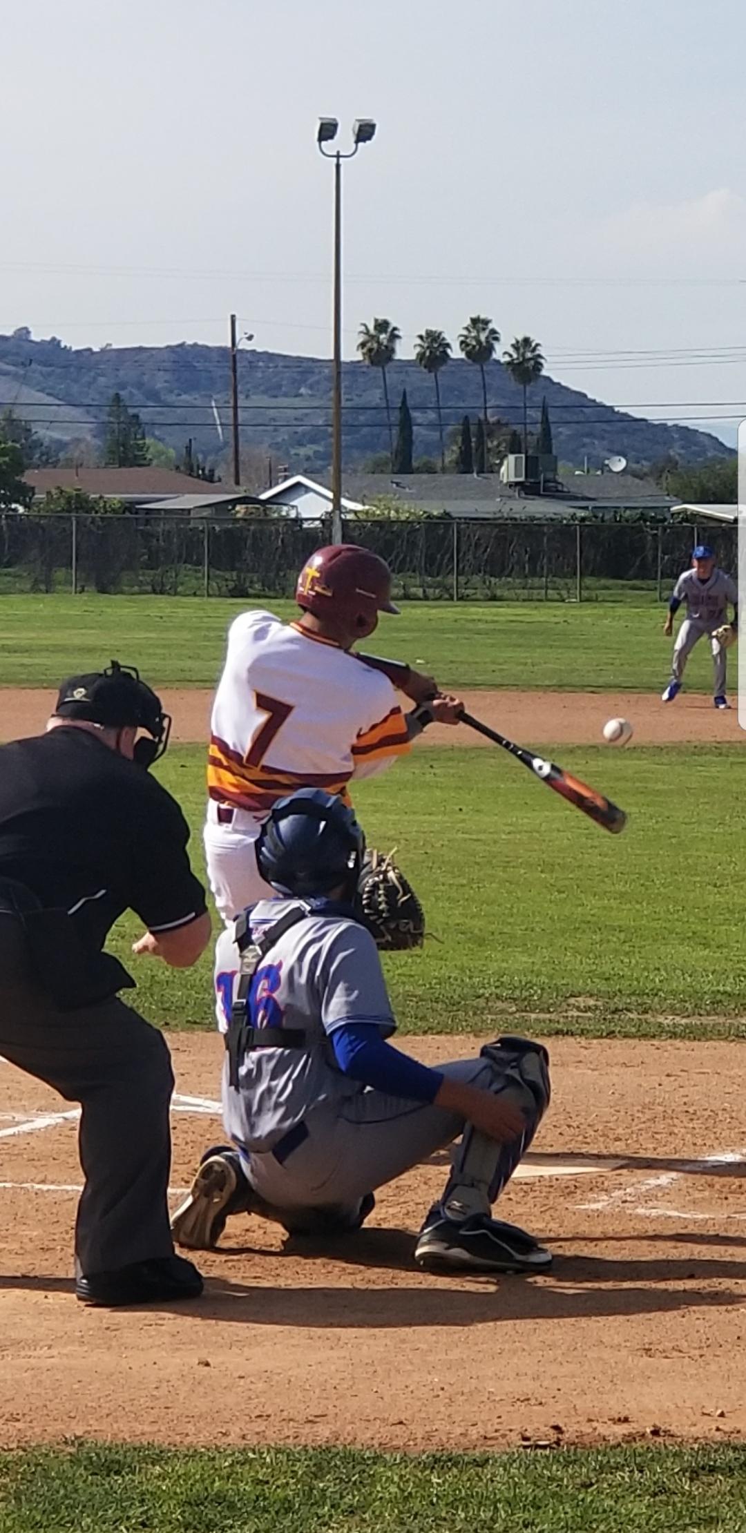 Boys Varsity Baseball falls to Los Altos/Hacienda Heights 4 – 2