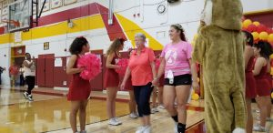 Volleyball Senior Night & Breast Cancer Awareness Night