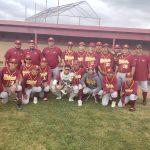 Baseball Wins Gladstone Tournament