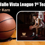 Boys Basketball 2020 Valle Vista 1st Team – Tyler Kam