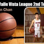 Boys Basketball 2020 All Valle Vista League 2nd Team – Aiden Chan