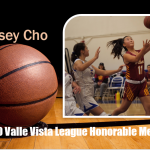 Girls Basketball 2020 Valle Vista League Honorable Mention – Casey Cho