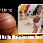 Girls Basketball 2020 Valle Vista League 2nd Team – Ivy Liang
