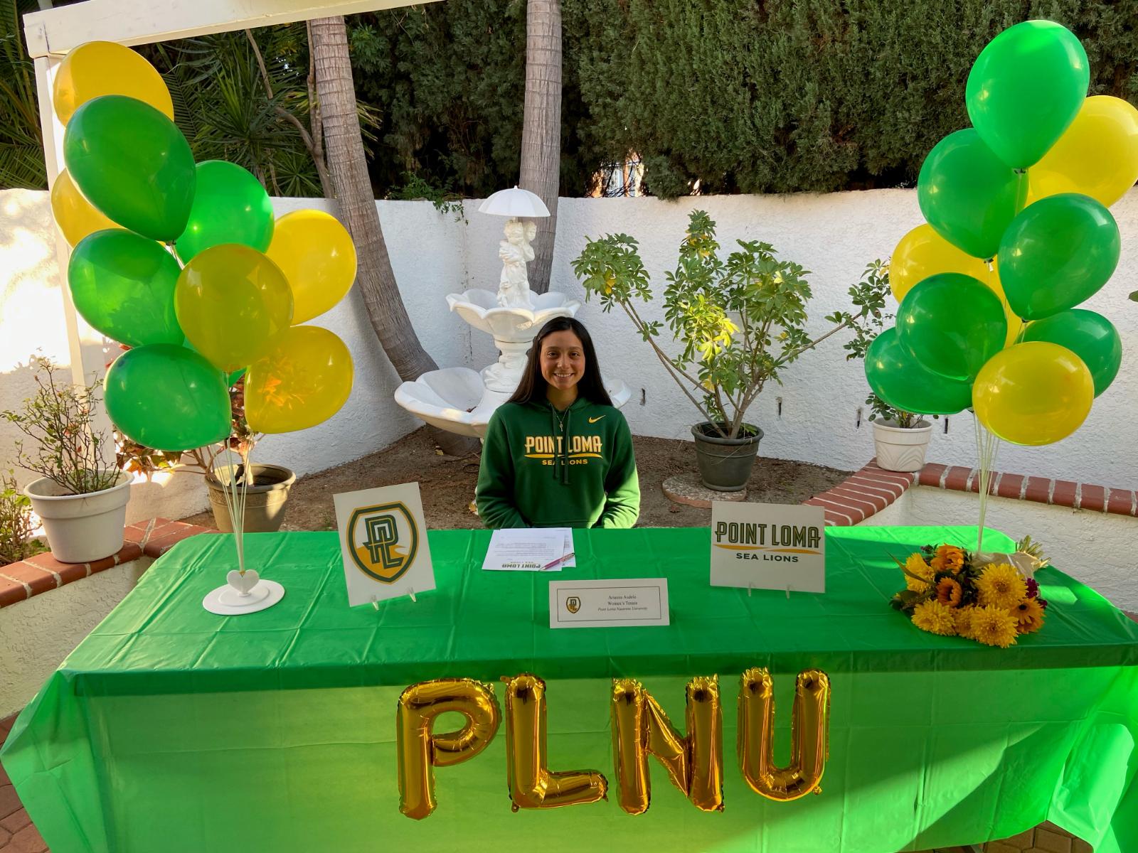 Arianna Audelo Signing to Point Loma Nazarene University