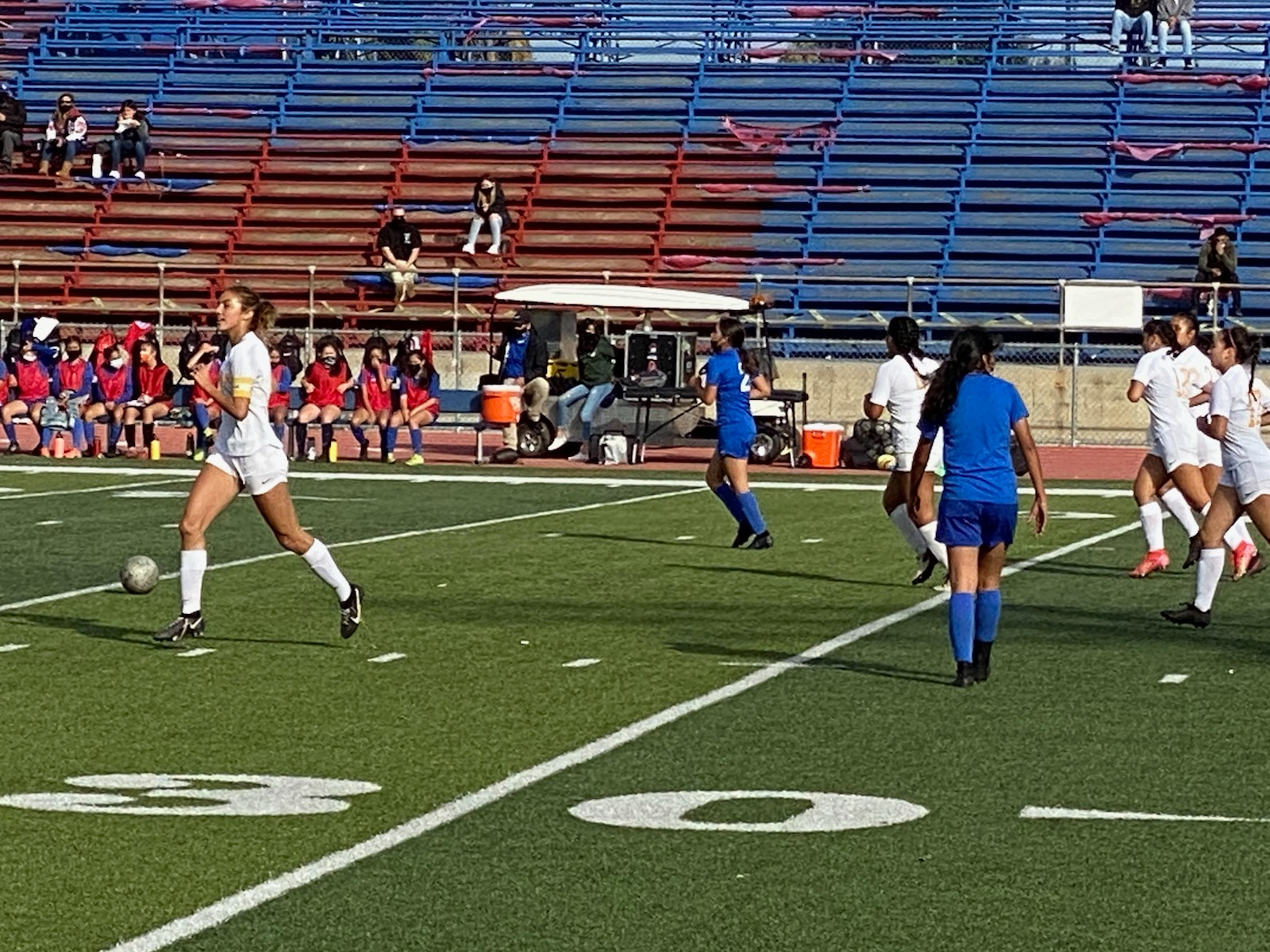 Wilson Girls Soccer Dominates Los Altos 2-0