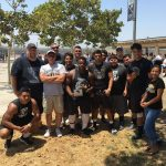 Football 1st place at Lineman Competition