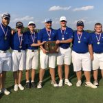 Boys Varsity Golf finishes 1st place at District Golf Tourney