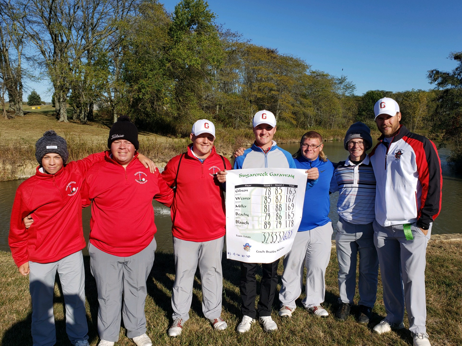 Garaway Boys Golf 3rd at Div.2 State Golf
