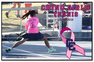 10-20-2016 GIRLS TENNIS PINK OUT