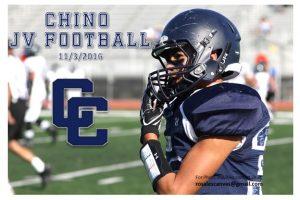 11-3-2016 Chino JV Football