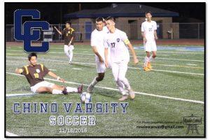 11-18-2016 Chino Varsity Soccer