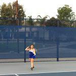 Chino High School Girls Varsity Tennis falls to Walnut High School 12-6