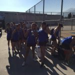 Girls Varsity Tennis falls to Los Osos 10 – 2