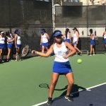 Girls Junior Varsity Tennis falls to Diamond Bar 14 – 1