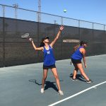 Girls Varsity Tennis falls to Diamond Bar 14 – 4