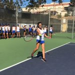 Girls Junior Varsity Tennis beats Chaffey 11 – 1