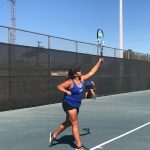 Girls Varsity Tennis beats Chaffey 14 – 4