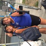 Girls Varsity Tennis beats Ontario 12 – 6